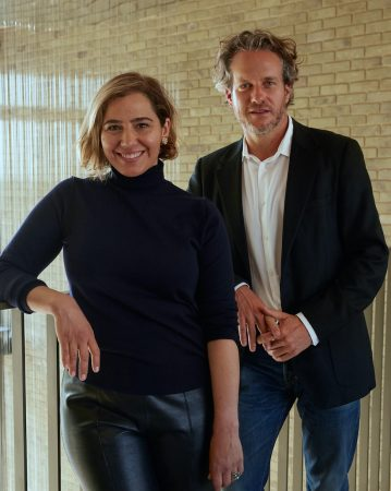 Ceanne Fernandes-Wong, CEO and Co-Founder at COCOON, and Matt Heiman, Chairman and Co-Founder at COCOON - Photography by Holly Whitaker.jpg